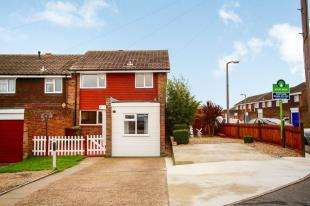3 Bedrooms House for sale in Wall Close, Hoo, Rochester, Kent