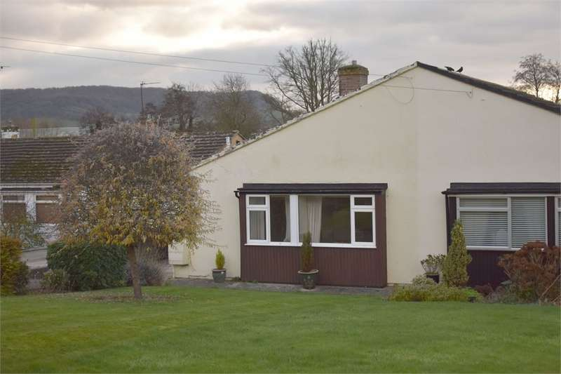 2 Bedrooms Semi Detached Bungalow for sale in Crescent Road, Bridgend, Stonehouse, Gloucestershire