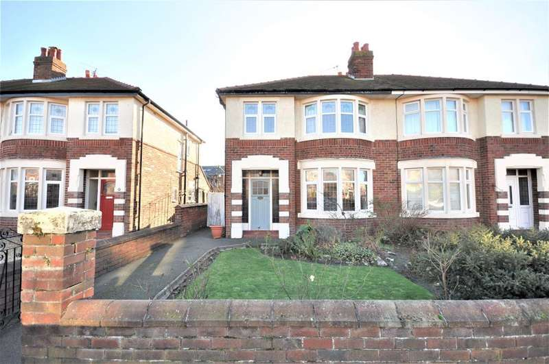 3 Bedrooms Semi Detached House for sale in Westby Road, St Annes, Lytham St Annes, Lancashire, FY8 2EJ
