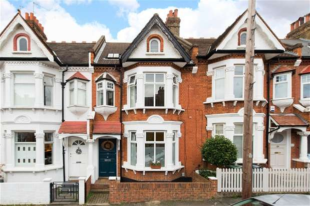 5 Bedrooms Terraced House for sale in Tulsemere Road, London