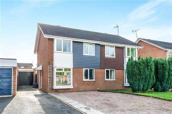 3 Bedrooms Semi Detached House for sale in Saxon Road, Stafford