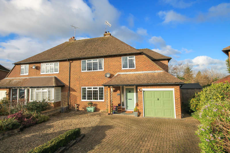 4 Bedrooms Semi Detached House for sale in Fairlawn Drive, East Grinstead