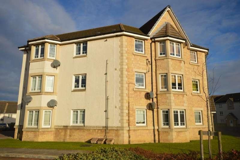 2 Bedrooms Flat for sale in Kestrel Way, Dunfermline, KY11