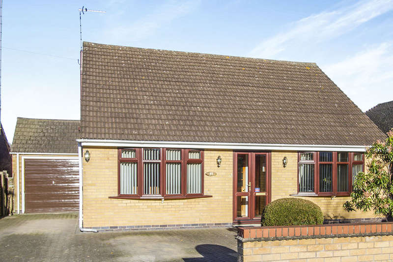 3 Bedrooms Detached Bungalow for sale in Garendon Green, LOUGHBOROUGH, LE11
