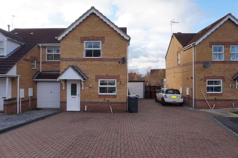 2 Bedrooms Semi Detached House for sale in Kingfisher Court, Bolsover, Chesterfield, S44