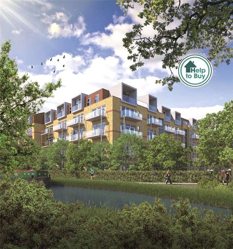 1 Bedroom Apartment Flat for sale in Union Park, Packet Boat Lane, Cowley, Middlesex, UB8