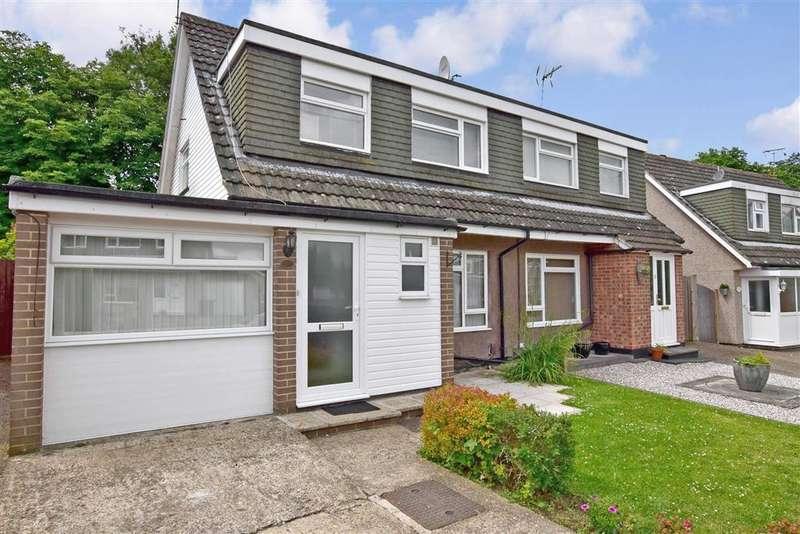 3 Bedrooms Semi Detached House for sale in Welland Road, , Tonbridge, Kent
