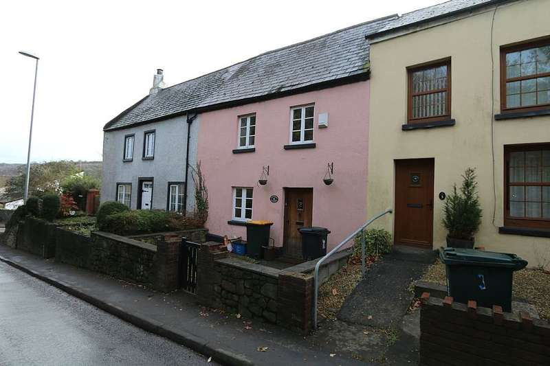 2 Bedrooms Terraced House for sale in Castle Street, Caerleon, Newport, Newport, NP18 1BR