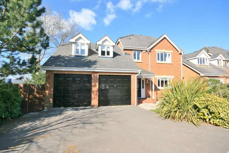 4 Bedrooms Detached House for sale in Cwrt Y Cadno, Cardiff, Cardiff, CF5 4PJ