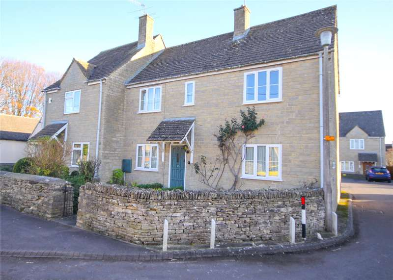 3 Bedrooms Semi Detached House for sale in Gooseacre Court, Gooseacre Lane, Cirencester, GL7