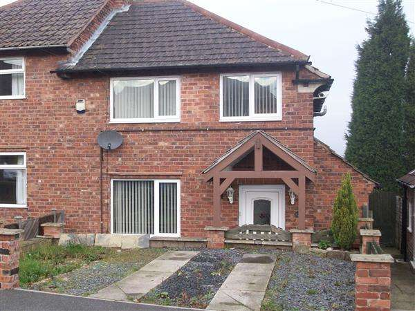 3 Bedrooms Semi Detached House for sale in Laurel Crescent, Chesterfield