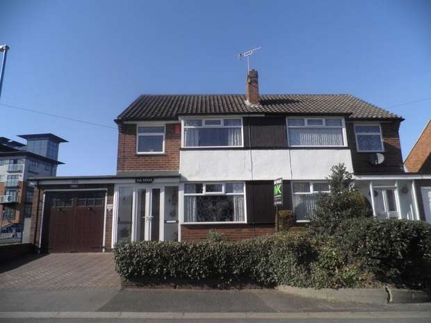 3 Bedrooms Semi Detached House for sale in Walsall Road, WEST BROMWICH, West Midlands