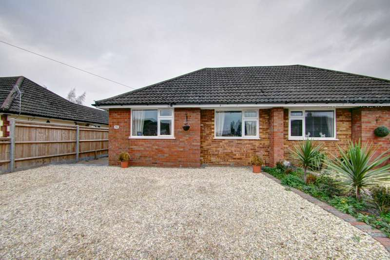 2 Bedrooms Semi Detached Bungalow for sale in Shortborough Avenue, Princes Risborough