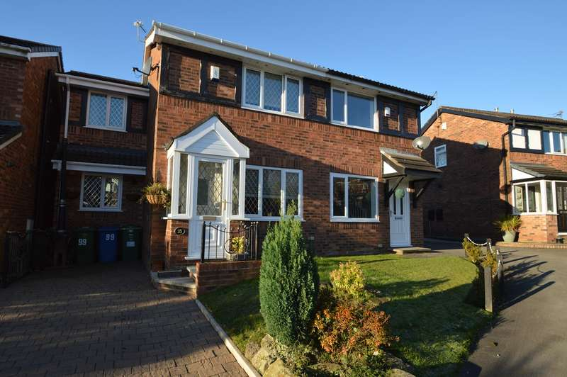 3 Bedrooms Semi Detached House for sale in St Georges Road, Church Meadow, Unsworth, Bury, BL9