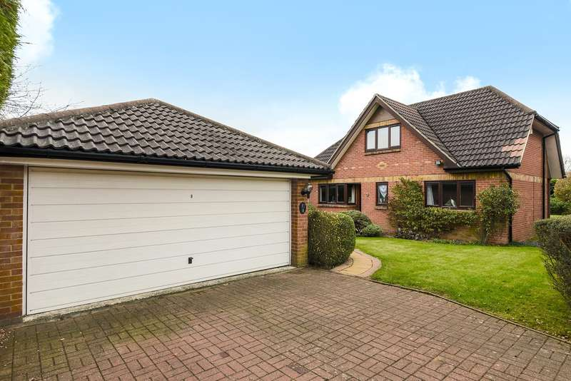 4 Bedrooms Detached House for sale in The Laurels, Basingstoke, RG21