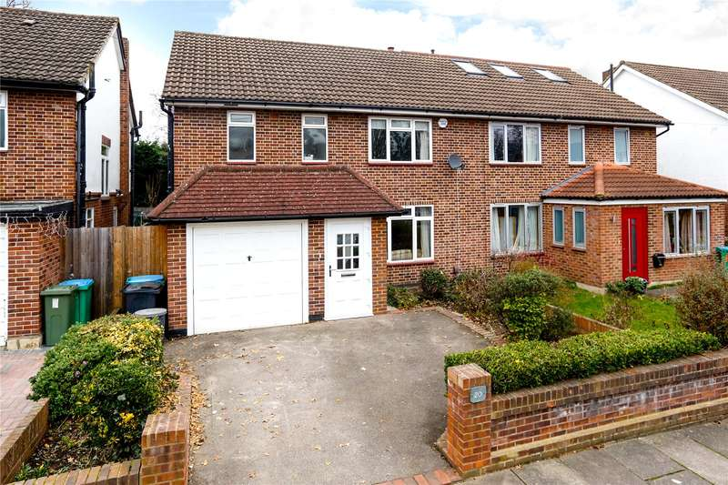 3 Bedrooms Semi Detached House for sale in Clive Road, Strawberry Hill, TW1