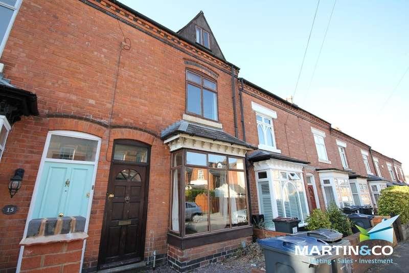 3 Bedrooms Terraced House for rent in Regent Road, Harborne, B17