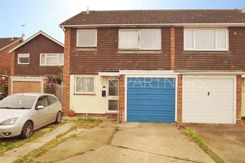 3 Bedrooms Semi Detached House for sale in Danbury Close, Marks Tey, Colchester