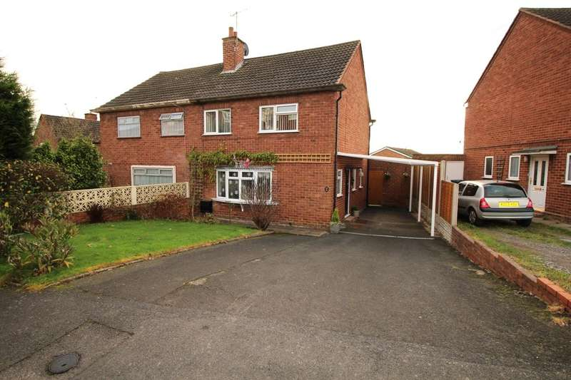 3 Bedrooms Semi Detached House for sale in Beech Road, Sidemoor, Bromsgrove, B61