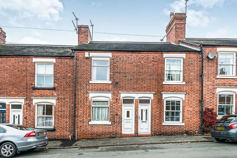 3 Bedrooms Terraced House for sale in Berkeley Street, STONE, ST15