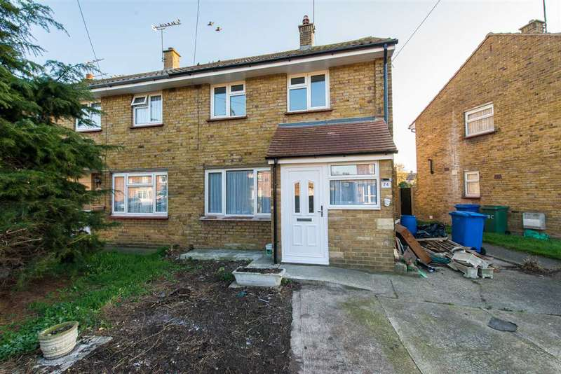 2 Bedrooms Semi Detached House for sale in Regis Crescent, Sittingbourne