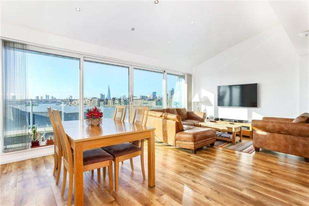3 Bedrooms Flat for sale in Pacific Wharf, 165 Rotherhithe Street, London