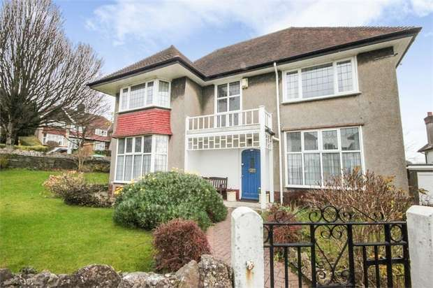 4 Bedrooms Detached House for sale in Parc Wern Road, Sketty, Swansea, West Glamorgan