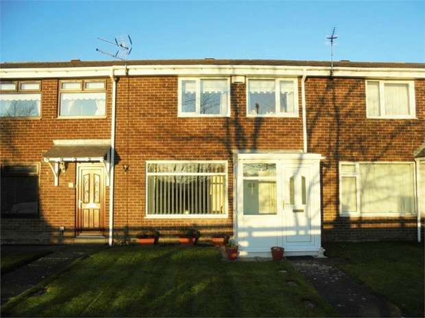 3 Bedrooms Terraced House for sale in Brookside, Dudley, Cramlington, Tyne and Wear