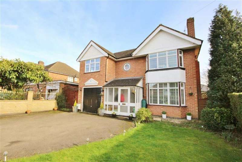 4 Bedrooms Detached House for sale in Meadow Close, Leamington Spa, Warwickshire, CV32