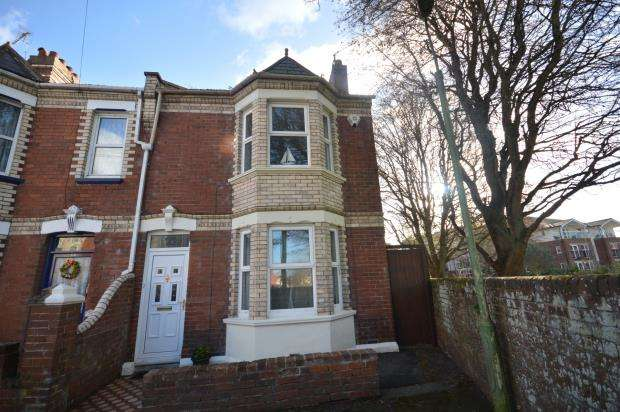 3 Bedrooms End Of Terrace House for sale in Rugby Road, Exeter, Devon