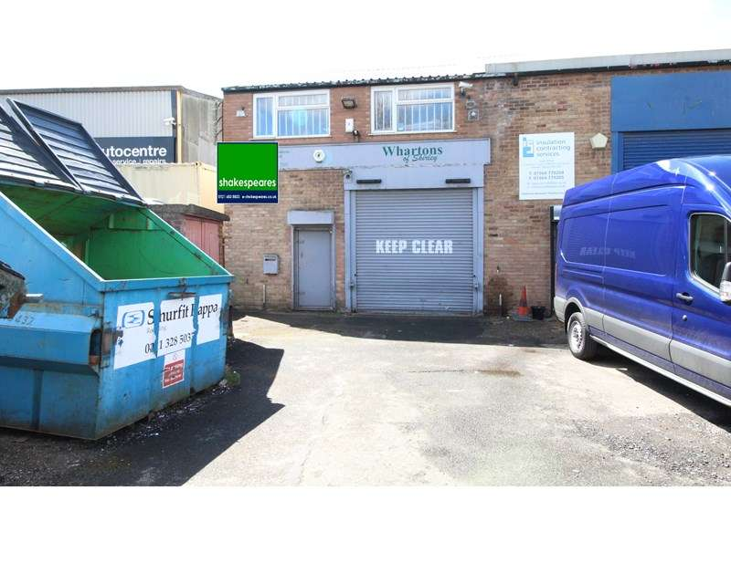 Warehouse Commercial for sale in Richmond Road, Solihull