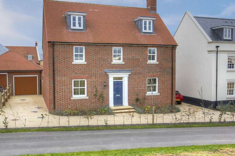 5 Bedrooms Detached House for sale in Emletts Way, Brimsmore, Yeovil, Somerset, BA21 3FP
