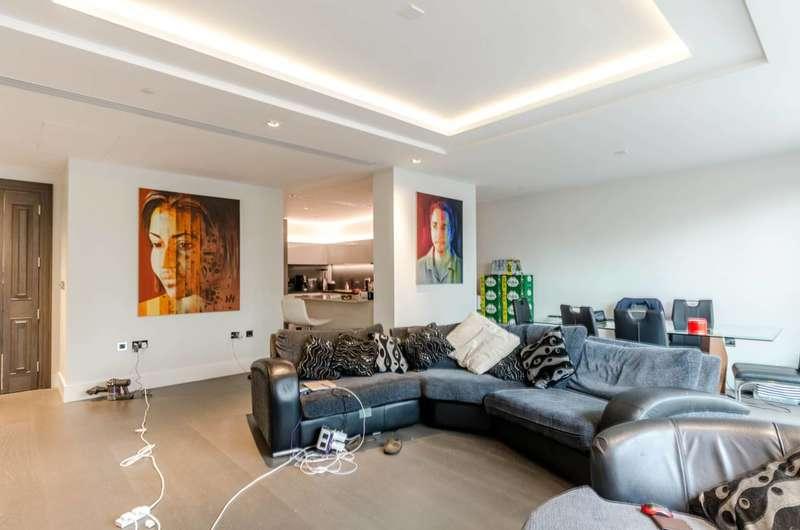 2 Bedrooms Flat for sale in Radnor Terrace, Kensington, W14