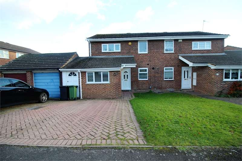 3 Bedrooms Semi Detached House for sale in Mackay Close, Calcot, READING, Berkshire