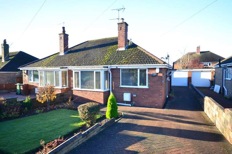 2 Bedrooms Semi Detached Bungalow for sale in Bernard Grove, Meir Heath, ST3 7NZ