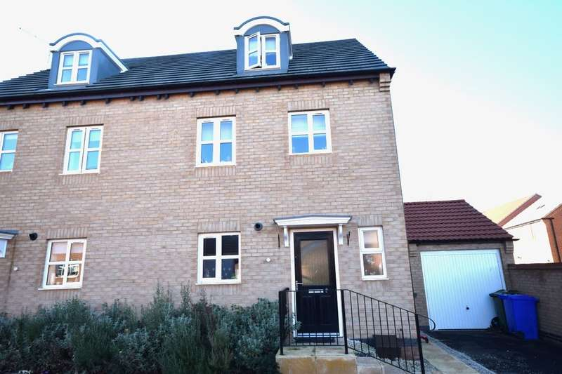 4 Bedrooms Semi Detached House for sale in Reef Close, Warsop, Mansfield, NG20