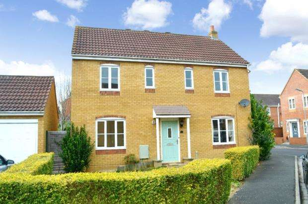 4 Bedrooms Detached House for sale in Avill Crescent, Taunton, Somerset