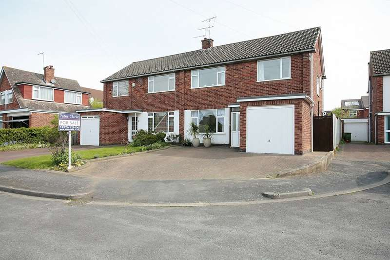 3 Bedrooms Semi Detached House for sale in The Greenways, Leamington Spa