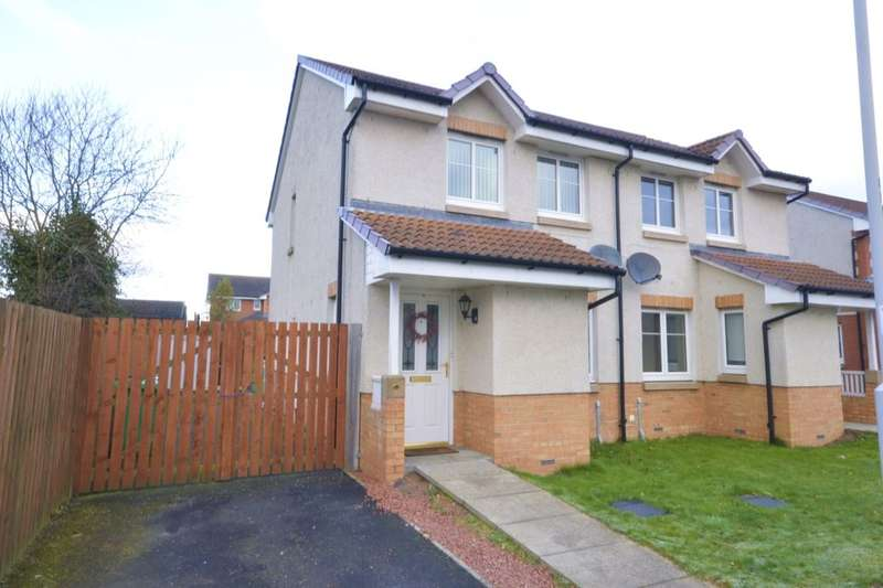 3 Bedrooms Semi Detached House for sale in Bowhill View, Cardenden, Lochgelly, KY5