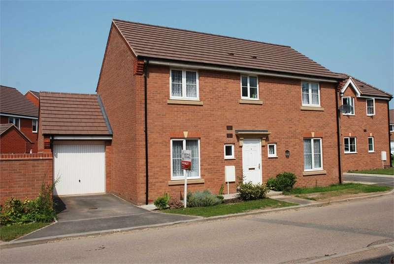 4 Bedrooms Detached House for sale in Brand Road, Caldecott Manor, RUGBY, Warwickshire