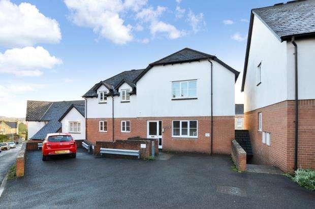 1 Bedroom Flat for sale in Carpenters Court, Church Road, Newton Abbot, Devon