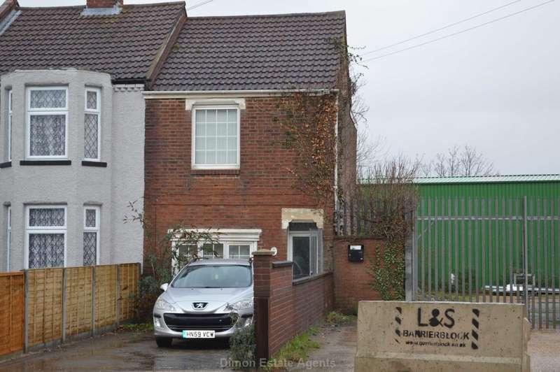 2 Bedrooms End Of Terrace House for sale in Brockhurst Road, Gosport