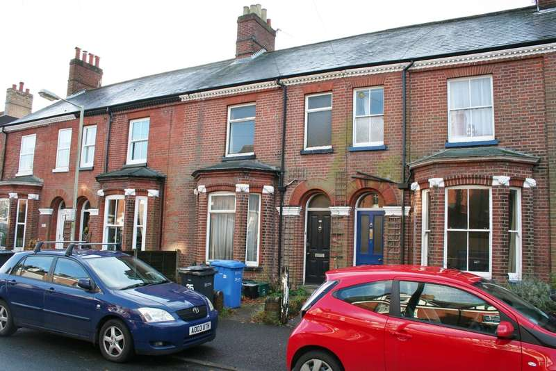 3 Bedrooms Terraced House for sale in GROSVENOR ROAD, NORWICH NR2