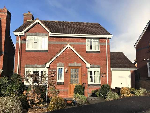 4 Bedrooms Detached House for sale in 3 Ridgeway, Honiton