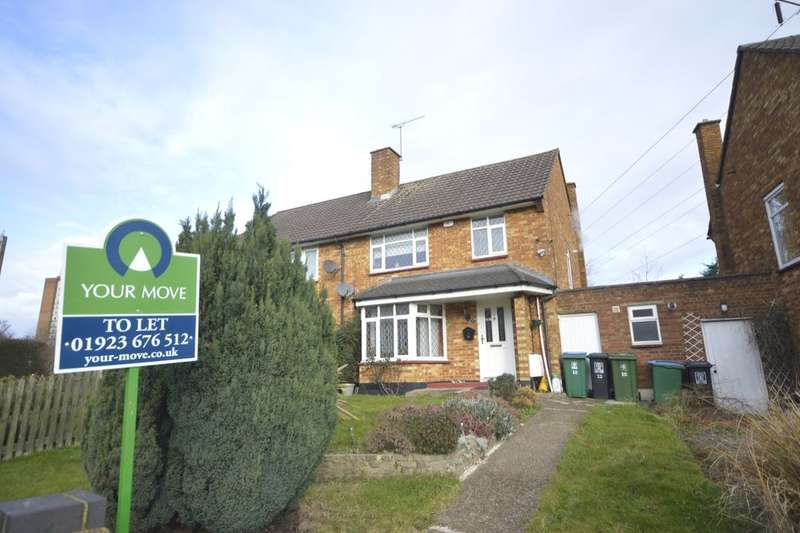 3 Bedrooms Semi Detached House for rent in Garsmouth Way, Watford, WD25