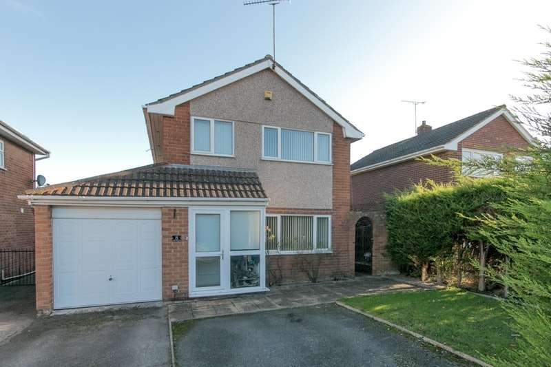 3 Bedrooms Detached House for sale in Ffordd Garmonydd, Wrexham, Clwyd, LL12
