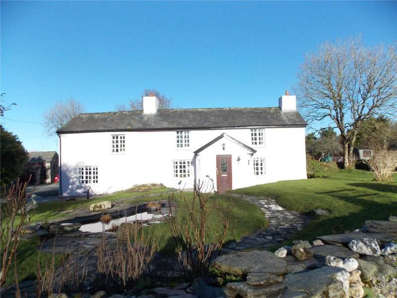 3 Bedrooms Detached House for sale in Trecrogo, South Petherwin, Launceston