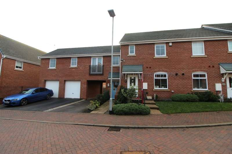 3 Bedrooms Terraced House for sale in Poole Lane, Silverdale, Newcastle, ST5