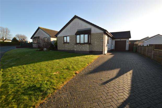 3 Bedrooms Detached Bungalow for sale in Trelissick Fields, Hayle, Cornwall