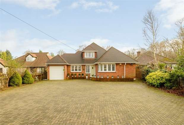 4 Bedrooms Detached House for sale in Almners Road, Lyne, Chertsey, Surrey